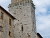 San Gimignano, torre in Piazza cisterna