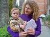 David Ciolli con il suo bellissimo bimbo e il suo libro