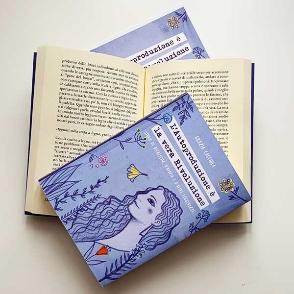 """libro """"L'autoproduzione è la vera Rivoluzione"""" di Grazia Cacciola - vista dell'interno"""