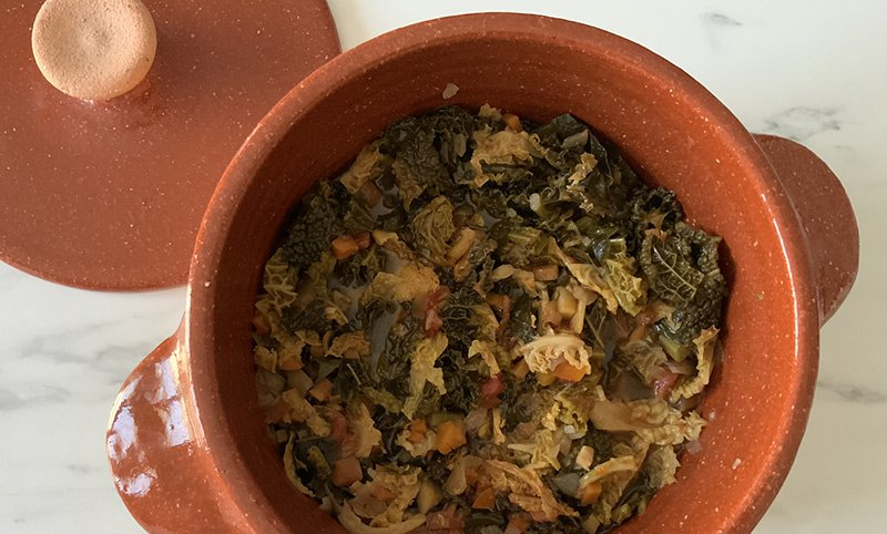 bollitura verdure nel coccio per la ribollita