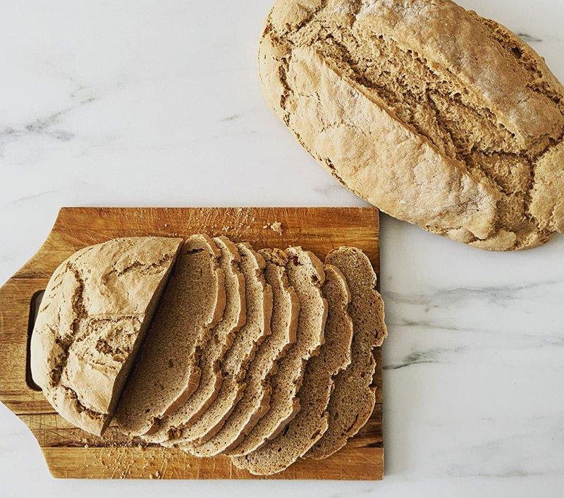 pane toscano farro integrale fatto in casa
