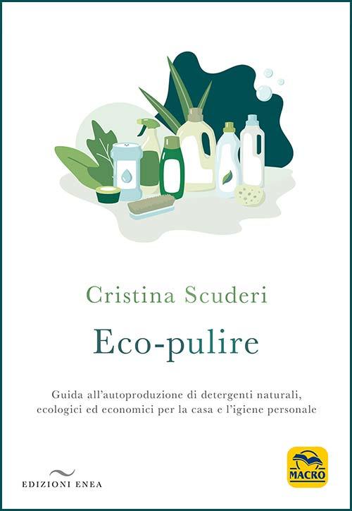 copertina del libro Eco-pulire di Cristina Scuderi