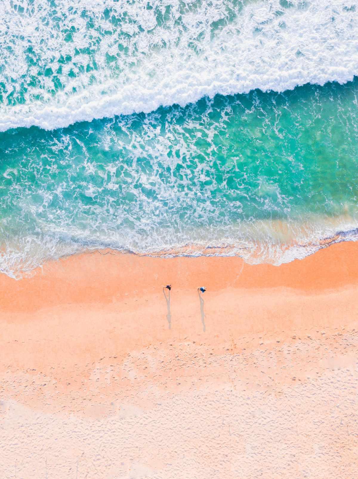 spiaggia in agosto, vacanze